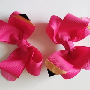 Back to school pencil hairbows